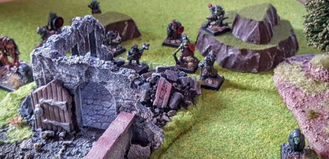 The goblin warband proved surprisingly efficient at demon summoning through out the day.