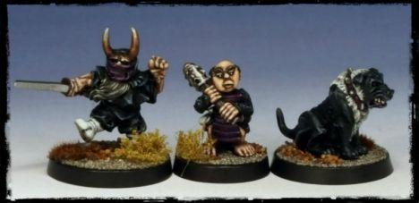 #34 - #36: Dwarf Ninja, Halfling Ashiguru, Dog