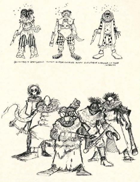 Confrontation Mutant Circus