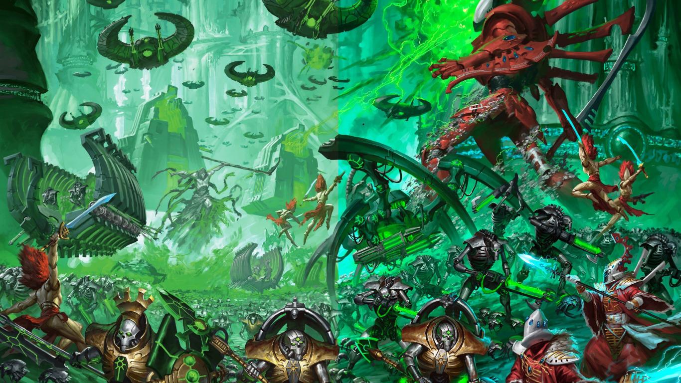 warhammer-40-000-necrons-ctan-monolith-army-battle-eldar-gho
