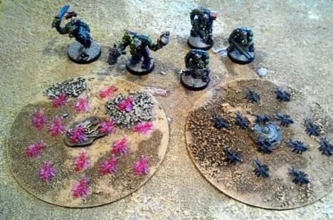 Ants vs Orks.